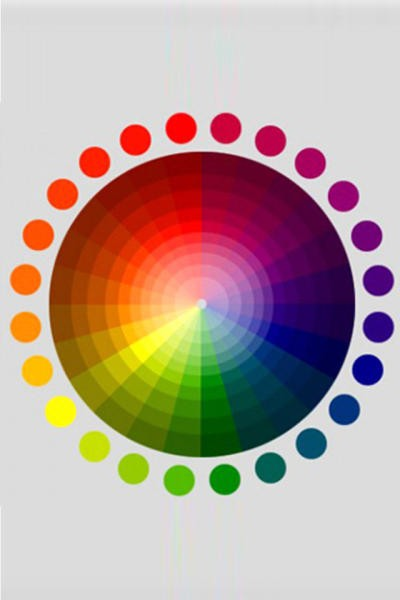 صورة دائرة الالوان لتنسيق الملابس , افضل النصائح لتنسيق الملابس