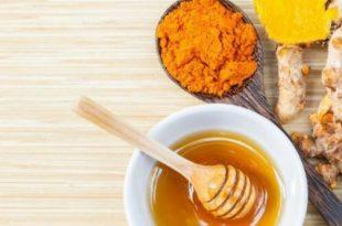 صورة فوائد الكركم مع العسل , خلطة الكركم و العسل و تاثيرها علي البشره