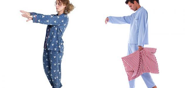 صورة المشي اثناء النوم , علاج المشي اثناء النوم