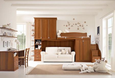 صورة غرف اطفال صغيرة بسريرين , تصاميم غرف اطفال رائعه