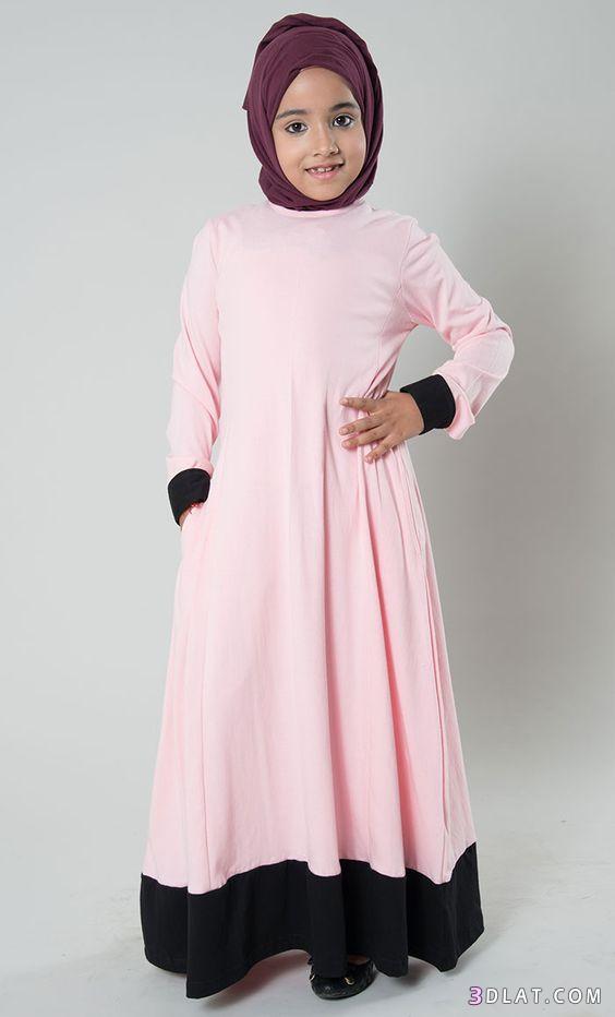 صورة ملابس بنات صغار محجبات , اروع لبس للصغار المحجبات