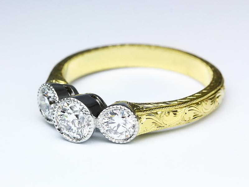صورة اجمل خواتم الذهب , خواتم مميزة للزواج