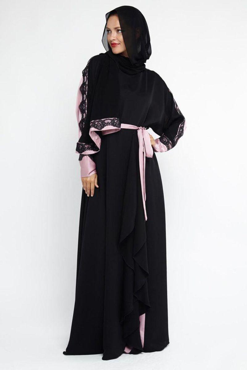 صورة عبايات سعودية فخمة , تصاميم عبايات رائعه