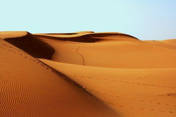 صورة رؤية الصحراء في المنام , تفسير رؤية الصحاري في الحلم