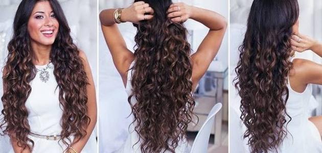 صورة طريقة عمل الشعر ويفي , كيف اعمل شعري ويفي