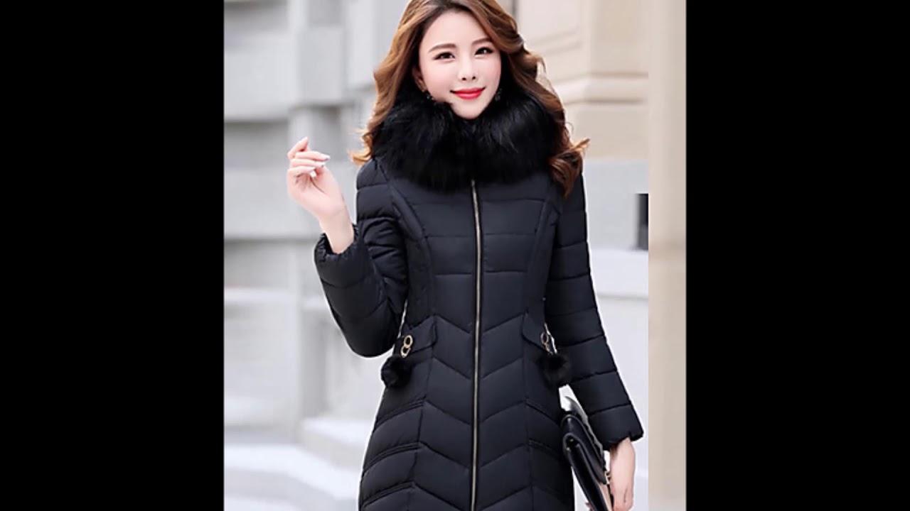 صورة جاكيت شتوي نسائي طويل , شاهد الموضة للنساء في الشتاء