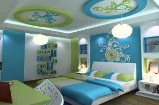صور ديكورات اسقف غرف نوم اطفال , يجب ان يكون طفلك سعيد بغرف النوم له
