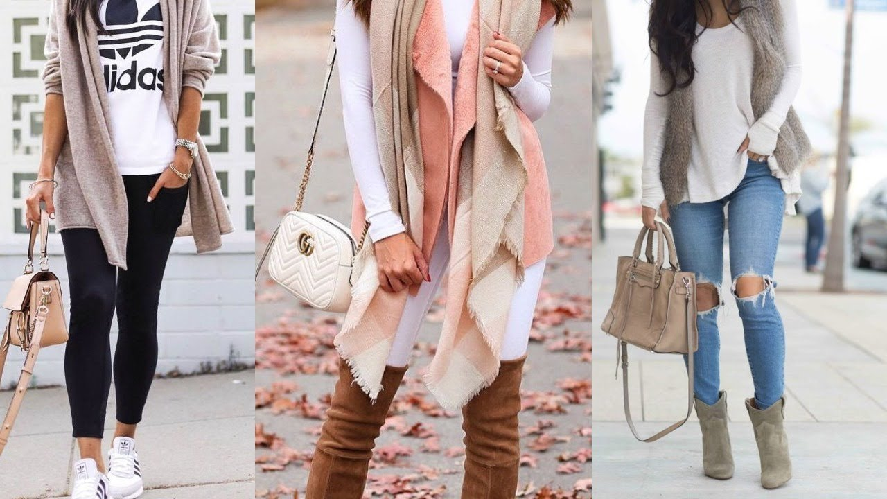 احلى ملابس شتوية , الموضة للفتيات بالملابس الشتوية  حركات