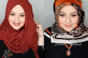 صورة لفات حجاب تركية , تجملي و تالقي بلفة الحجاب