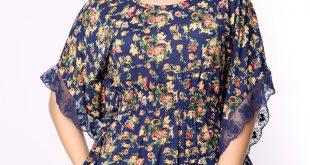صورة بلوزات صيفى تركى , شاهد الموضة في البلوزات التركي