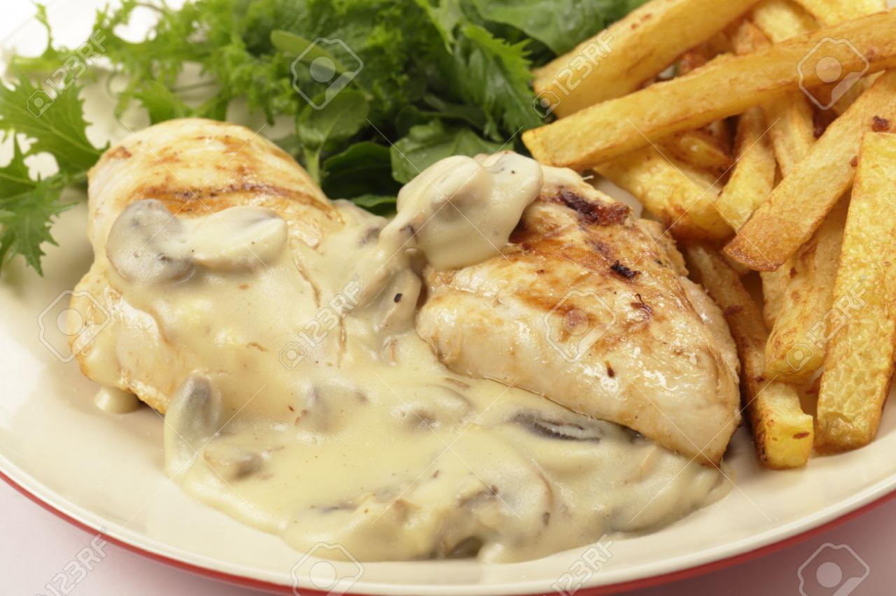 صورة طريقة عمل الدجاج بالكريمة , تعرف على افضل طريقة لعمل الدجاج بالكريمة