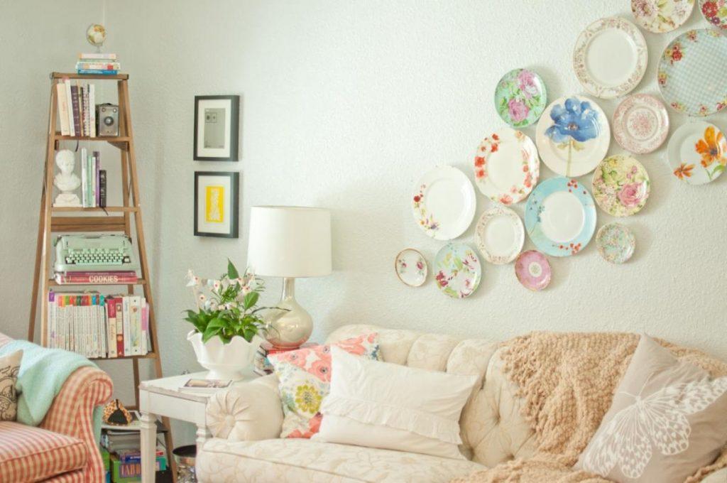 صورة ديكورات بسيطة وغير مكلفة للجدران , صور ديكورات رائعه اوي للبيت