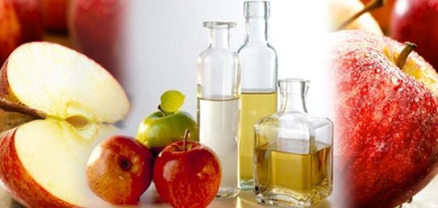 صورة خل التفاح للشعر المتساقط , افضل وصفه لمنع تساقط الشعر