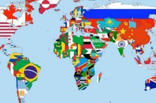 صورة اكبر دول العالم , من هي اكبر دول العالم