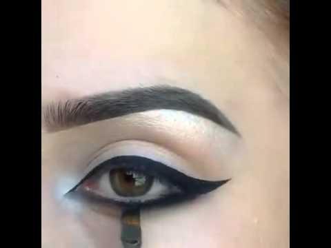 صور طريقة رسم العين , كيف ارسم العين بسهوله