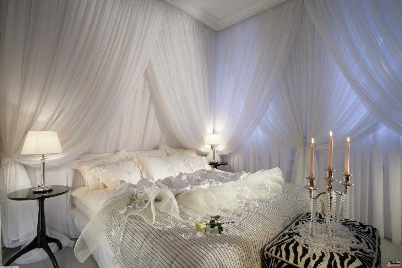 صورة ستائر غرف نوم ناعمة , الموضة في الستائر لغرف النوم