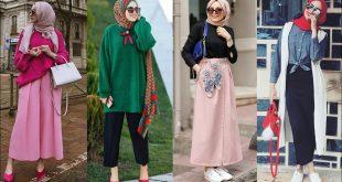 صورة لبس بنات محجبات اخر موضة , تالقي و تجملي بلبس الموضة للمحجبات