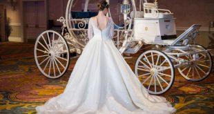 صورة فستان زفاف سندريلا , تالقي و تزيني بفستان الفرح
