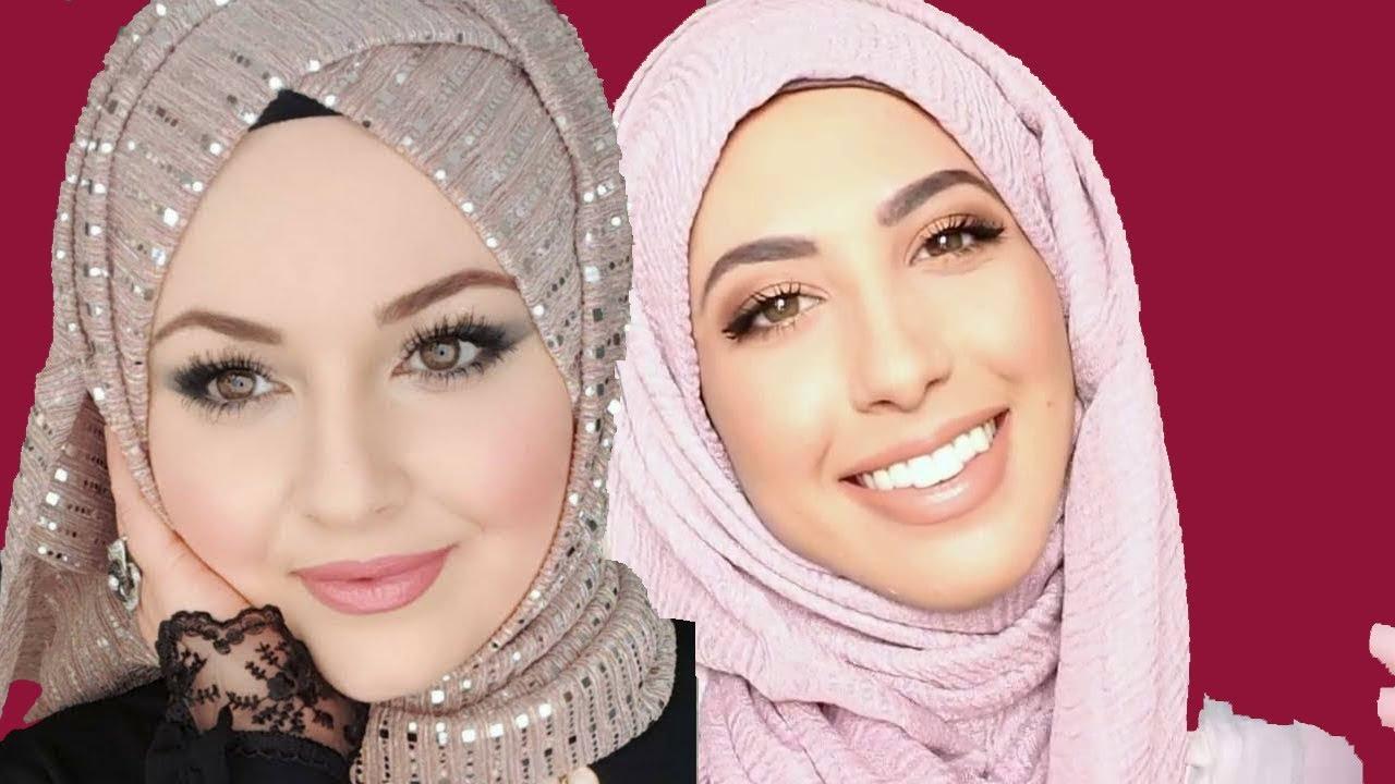صورة لف طرح تركى , تالقي و تجملي باجمل حجاب