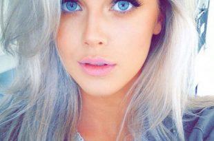 صورة صور بنات عيونهم زرق , عيون تسحر من يراها