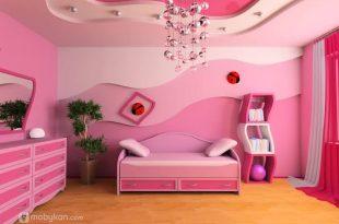 صور الوان غرف نوم اطفال بنات , الديكورات في غرف النوم للبنات