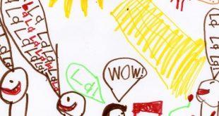 صورة تعليم الرسم للاطفال الصغار , موهبه فطريه ينعم الله بها علي الانسان
